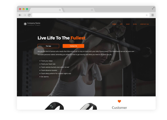 WordPress Theme One