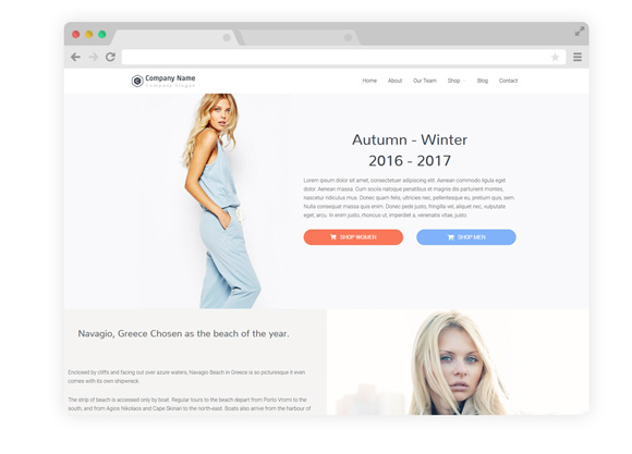 WordPress Theme Two
